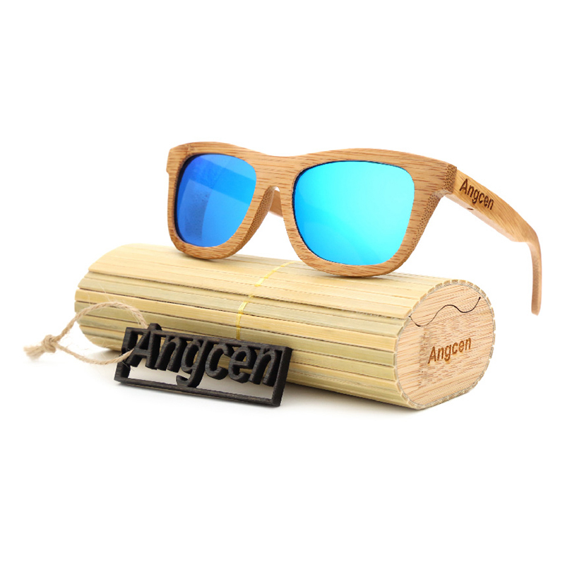 0496cff1dc Click to enlarge. HomeFashionWomenSunglasses Wooden Frame Handmade Men  Women Glass Bamboo Sunglasses